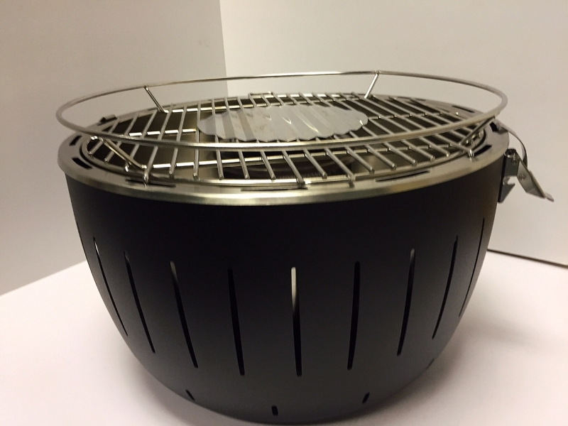 Smokeless Charcoal Grill Gafencu