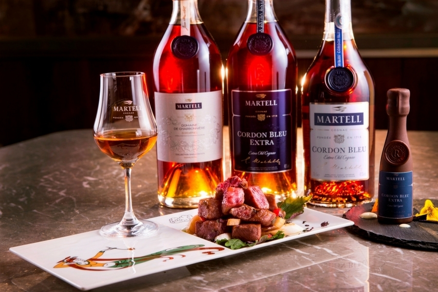 Martellu0027s Special Luncheon Combines Chinese Cuisine With The New Cordon Bleu  Extra Cognac