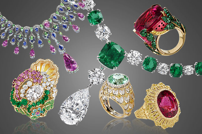 10 stunning jewellery pieces with carved gemstones
