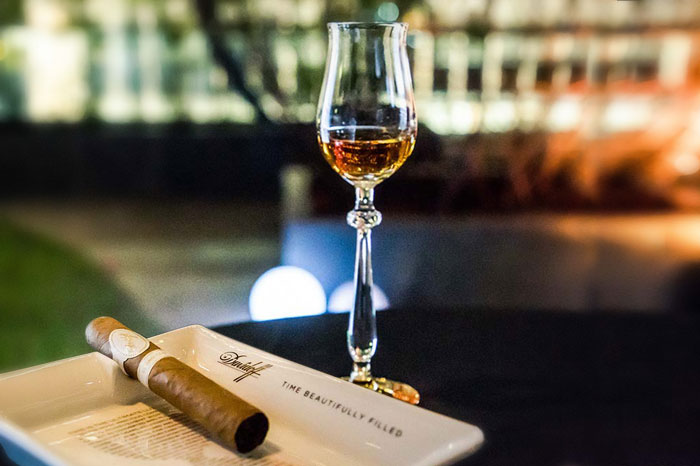 Davidoff and Hennessy host exclusive cigar-cognac pairing event