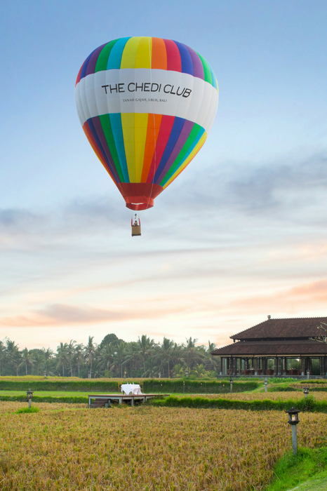Take to the skies with The Chedi Club Ubud's Balloons over Bali adventure