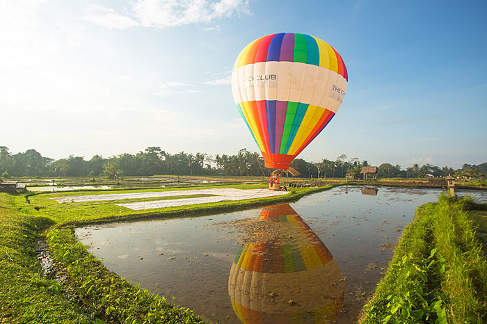 Take to the skies with Balloons over Bali at The Chedi Club Ubud