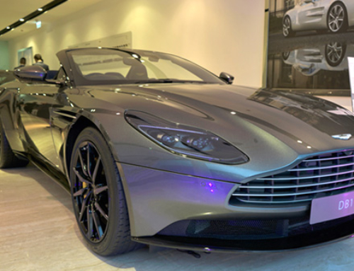 Aston Martin and Tag Heuer celebrate partnership with exclusive cocktail party
