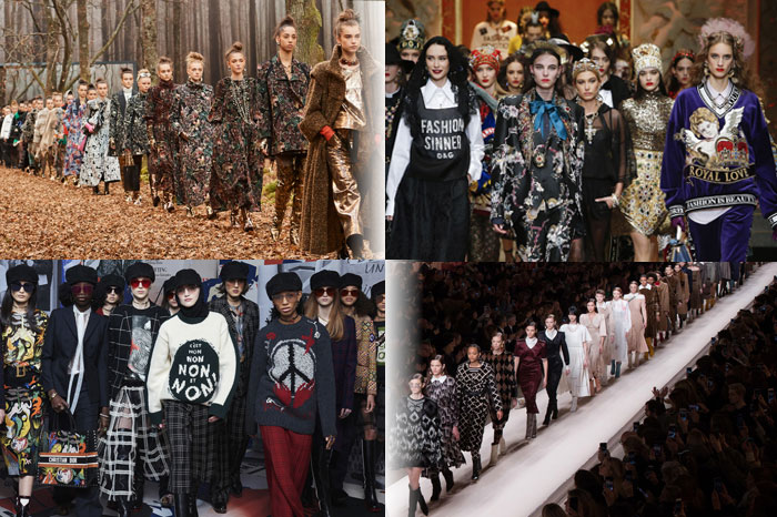 Part one of our Autumn-Winter 2018 Fashion Extravaganza