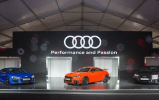 Audi hosted the first-ever 'A Symphony of Luxury, Performance and Passion' showcase at Central Harbourfront