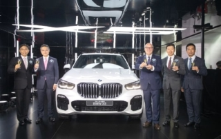 BMW X5 unveiled at BMW X Hub in Wanchai