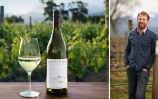 Exploring Cloudy Bay wines with its Technical Director, Jim White