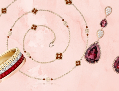Red and gold jewellery: Fantastic festive finery for CNY