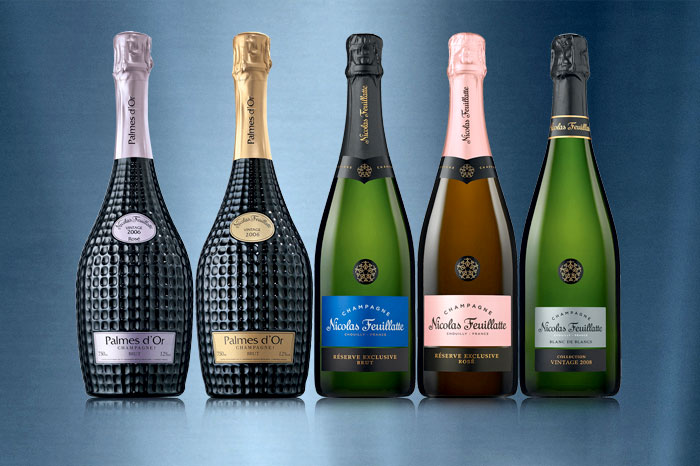 Omtis Fine Wines is where you can find Nicolas Feuillatte, France's favourite champagne