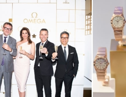 Top Models: OMEGA unveils new Constellation Manhattan Ladies' Collection