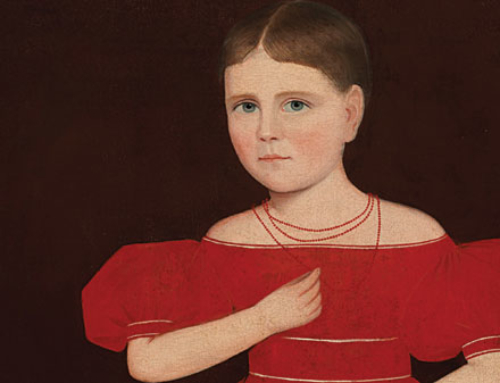Conveted Canvas: Record bid for Ammi Phillips' Red-clad Girl