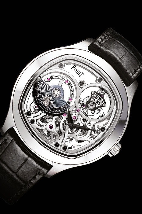 Skeleton dial watches - Piaget's Emperador Coussin 1270S