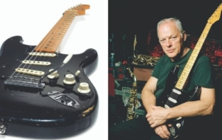 David Gilmour of Pink Floyd sells personal guitar collection