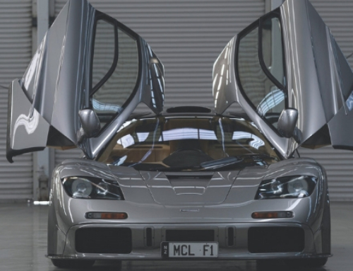 Modified McLaren sets new record at auction