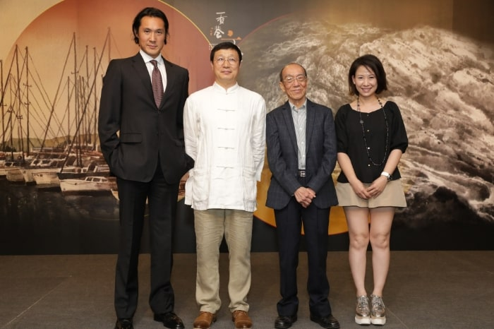 (From Left) Mr Hing Chao, Mr Zhao Zhijun, Mr Wucius Wong and Ms Juliana Lam