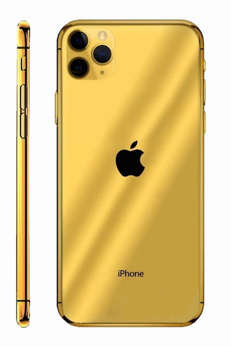Gold Infinity iPhone 11 Pro 3