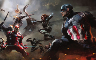 Marvel Cinematic Universe Phase Four line-up