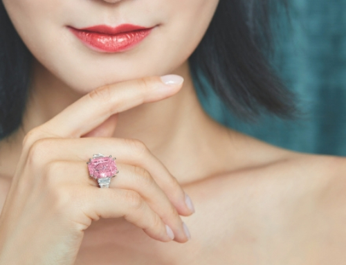 Pink Pride: Fancy pink diamond shines bright at Sotheby's auction