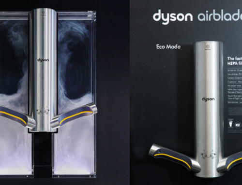 Effective and eco-friendly hand drying with Dyson Airblade 9kJ