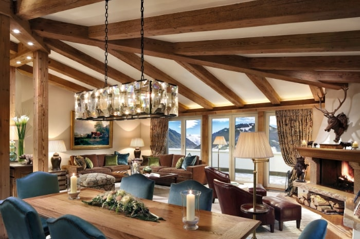 Gstaad Palace penthouse