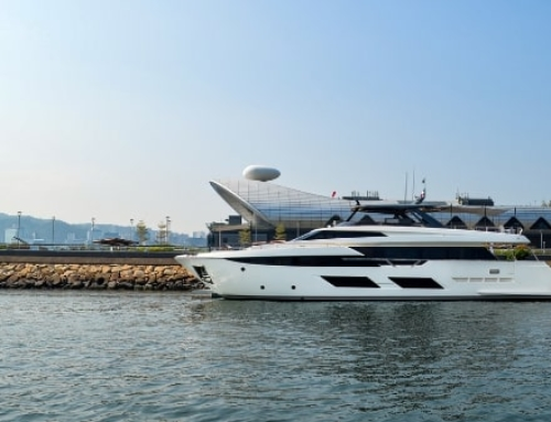 Ferretti wows the crowd at the 2nd International Cruise and Yachting Festival
