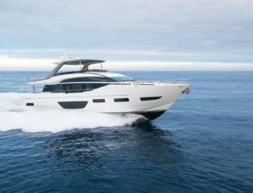 Tracking the 54-year legacy of Princess Yachts, and spotlighting its latest creations
