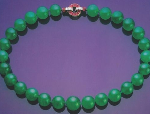 Heavenly Harmony: Gorgeous jade necklace shines at auction