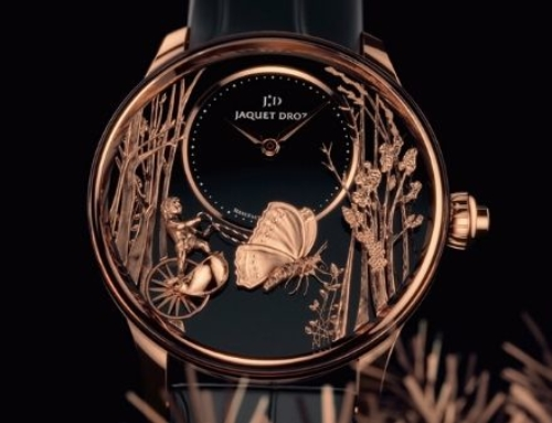 Loving Butterfly Automaton: A stunning new timepiece from Jaquet Droz