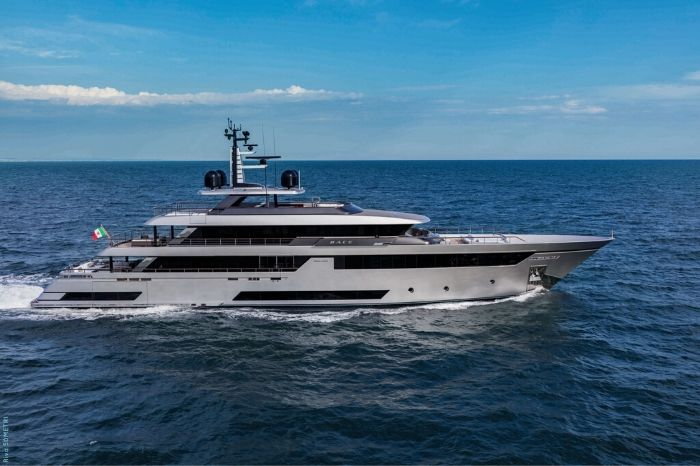 Riva 50M Race is the brand's biggest superyacht