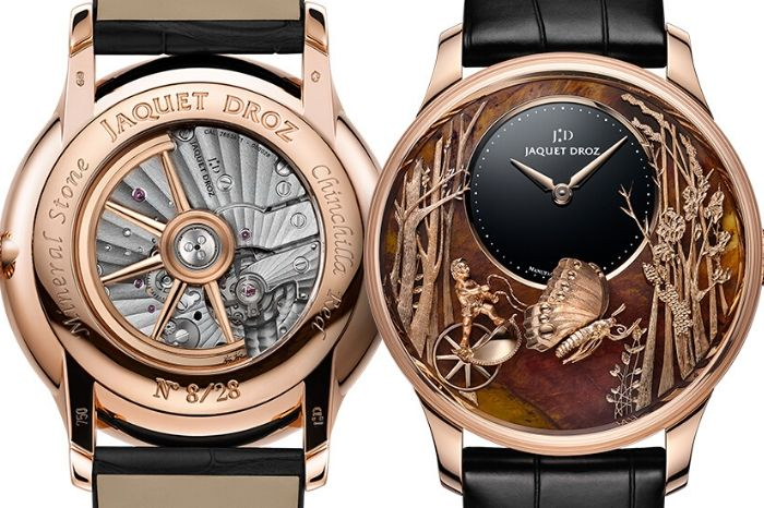 The Jaquet Droz Loving Butterfly Automaton 2