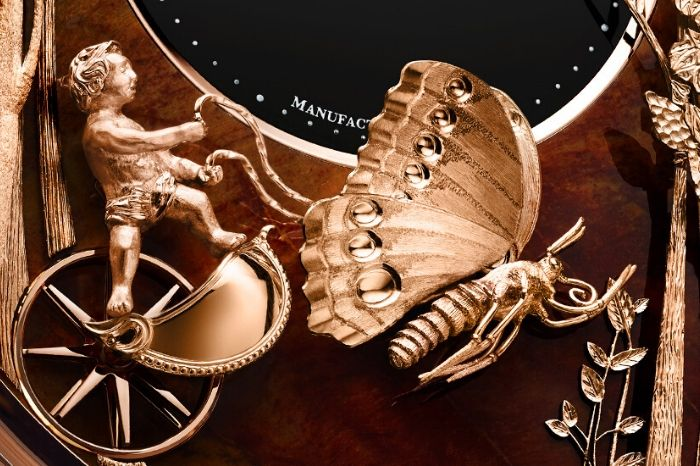 The Jaquet Droz Loving Butterfly Automaton 3