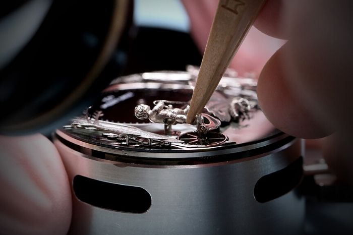The Jaquet Droz Loving Butterfly Automaton 4