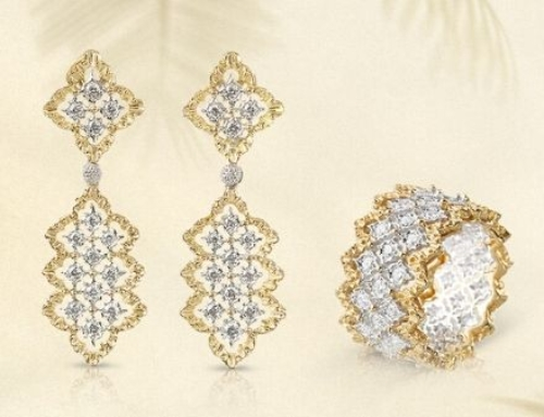 Buccellati unveils gorgeous, geometrically inspired new Mini Rombi Collection