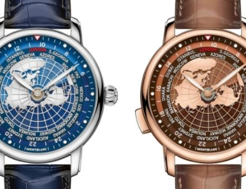 Montblanc Star Legacy Orbis Terrarum: The world in one watch