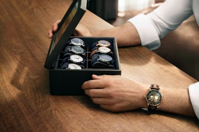 Montblanc Star Legacy Orbis Terrarum and other watches
