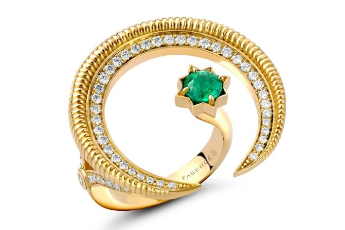 Faberge Hilal Crescent Collection Ring