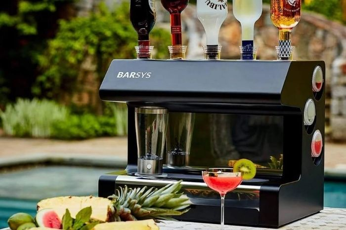 DIY Cocktails with Barsys 2.0+ Home Automated Cocktail Maker
