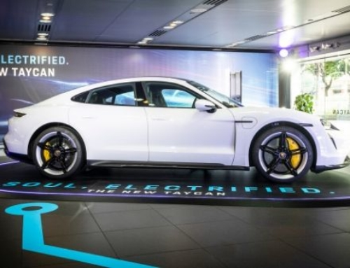 Electrified: The all-new, all-electric Porsche Taycan revs into Hong Kong