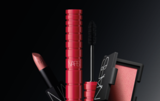 Feature Nars soft and buildable mascara and blush to compliment your natural look...and desires.