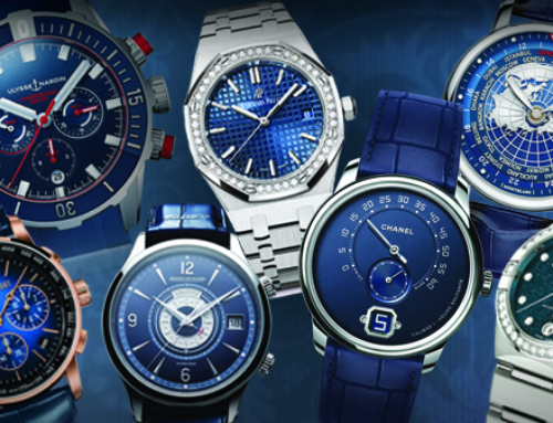 Blue hued: Exploring the appeal of cerulean-faced statement timepieces