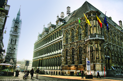 Ghentish Charm Meandering waterways, cobblestone streets and medieval architecture, this Belgian city has it all Gafencu Magazine Travel Feature