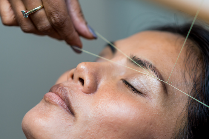 Plucking, waxing or threading Which is best for facial grooming  gafencu magazine beauty threading