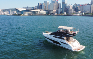 Introducing the new Fairline Squadron 50 gafencu magazine yacht view