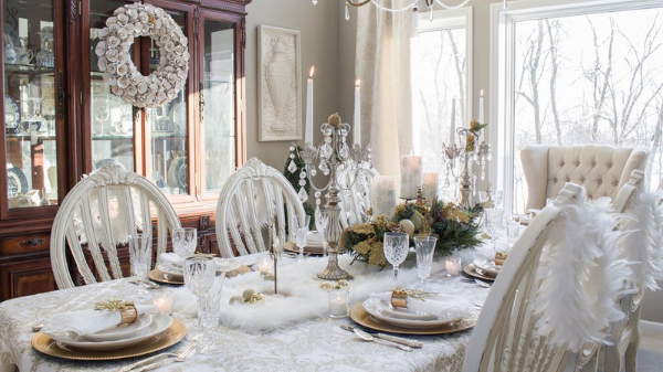 christmas dining table ideas for tablescape gafencu magazine christmas feature living