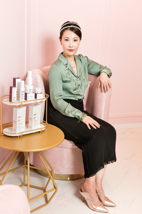Rare Beauty Michelle Chen, founder of RARE SkinFuel gafencu magazine people feature 2