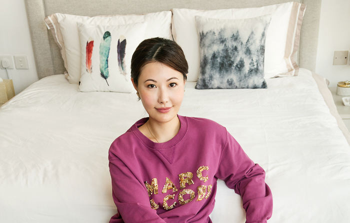 Rare Beauty Michelle Chen, founder of RARE SkinFuel gafencu magazine people feature 4