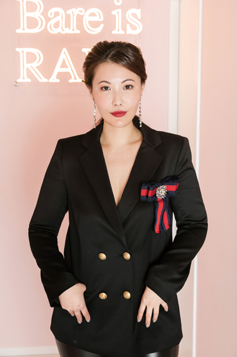 Rare Beauty Michelle Chen, founder of RARE SkinFuel gafencu magazine people feature 6