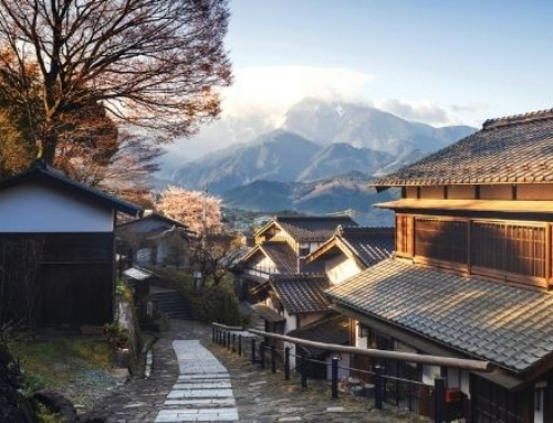 Travelling the ancient Nakasendo Trail