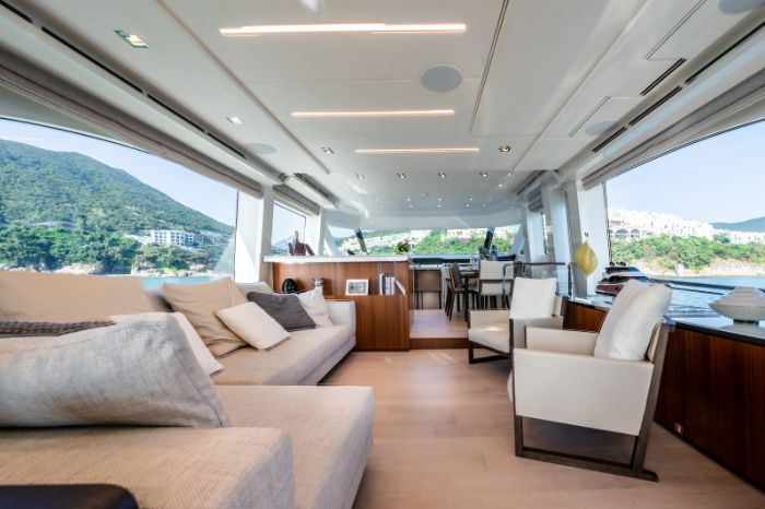 Introducing Monte Carlo Yacht's new MCY 70 Skylounge gafencu magazine main deck