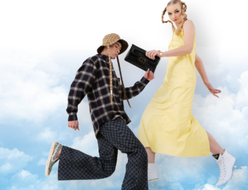 Above and Beyond: Fashion that lets you stand on the clouds…
